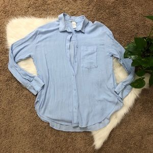 Creped Blouse